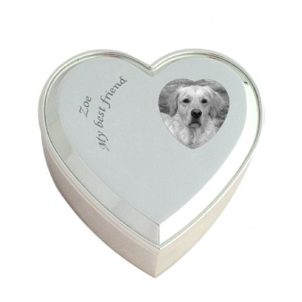 Pet Loss Trinket Pot with Engraving